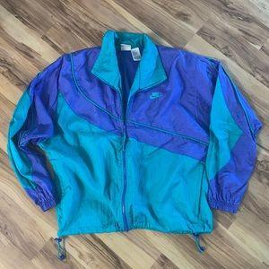 Vintage Nike nylon jacket size L